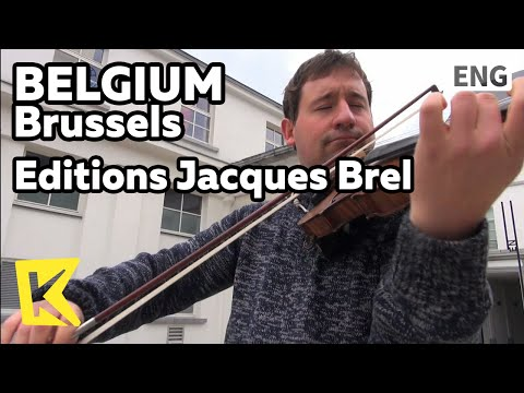 【K】Belgium Travel-Brussels[벨기에 여행-브뤼셀]자크 브렐 박물관/Brussels/Editions Jacques Brel/Chanson/Song