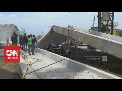 Jembatan Proyek Tol Pasuruan-Probolinggo Ambruk, 1 Tewas