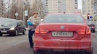 Женщины за рулем (часть 9)  Тематические подборки дтп