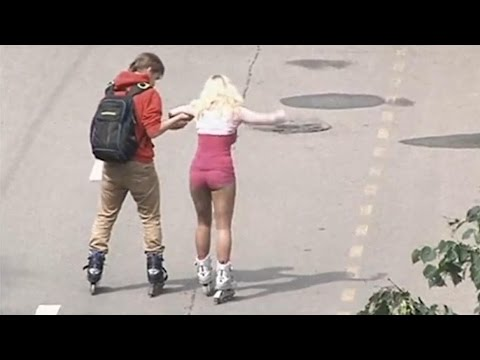 очаровательная фото с попой шикарной блондинка