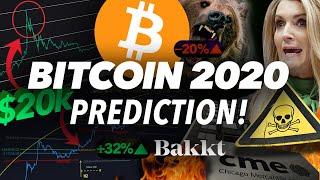 My BITCOIN 2020 Prediction! Danger Ahead or Epic Pump?