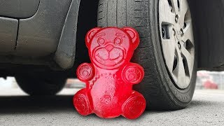 EXPERIMENT: CAR VS JELLY BEAR
