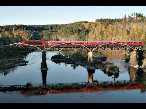 Train Travel from Drammen to Hønefoss (Bergenline)