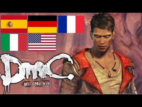 DMC: Devil May Cry - Voice Comparison | Multilanguage | 5 Different Languages thumbnail