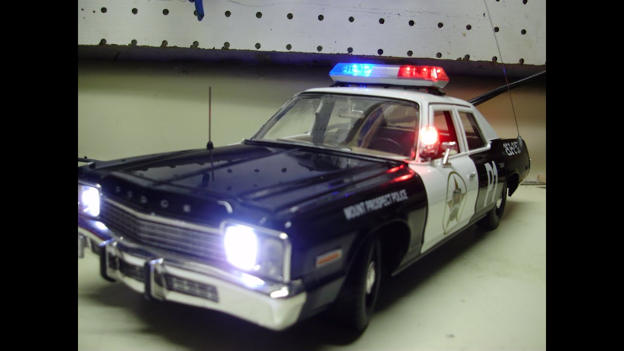 Police Cars For Sale >> William's custom 18th scale 1974 Dodge Monaco Mt Prospect ...