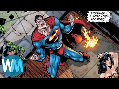 Top 10 Greatest DC Comics Stories Ever Written