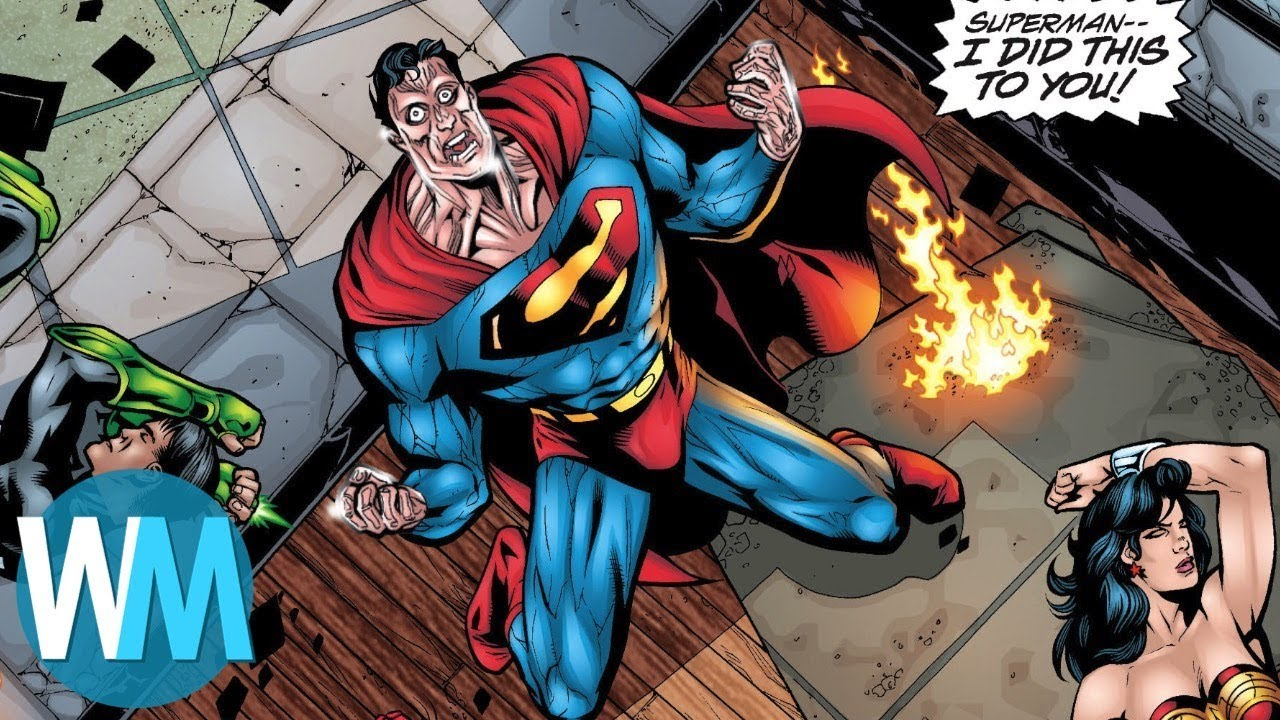 Top 10 Greatest Dc Comics Stories Ever Written