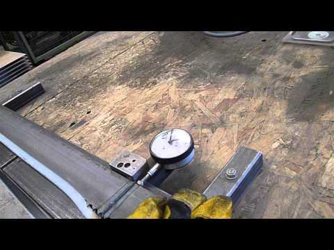 measuring weld accuracy