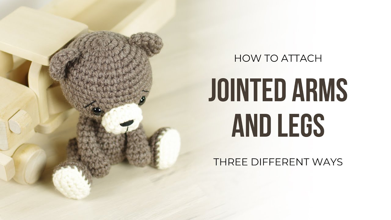 Amigurumi - How To Connect Legs - Crochet - YouTube | 720x1280