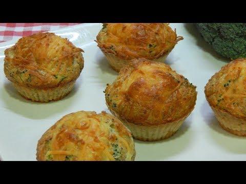 Receta fácil de pastelitos integrales de brócoli, simplemente deliciosos