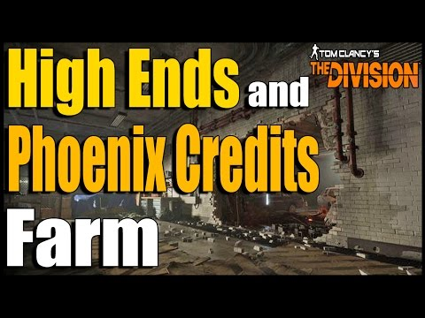 The Division: How to Get Easy Phoenix Credits, and High Ends! | GENERAL ASSEMBLY GLITCH FARM!