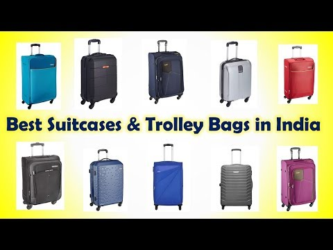 Best Suitcase & Trolley Bag in India with Price