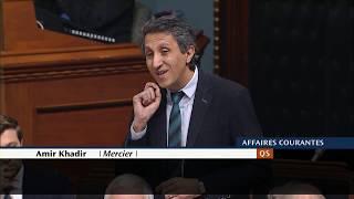 Dernière question du député de Mercier