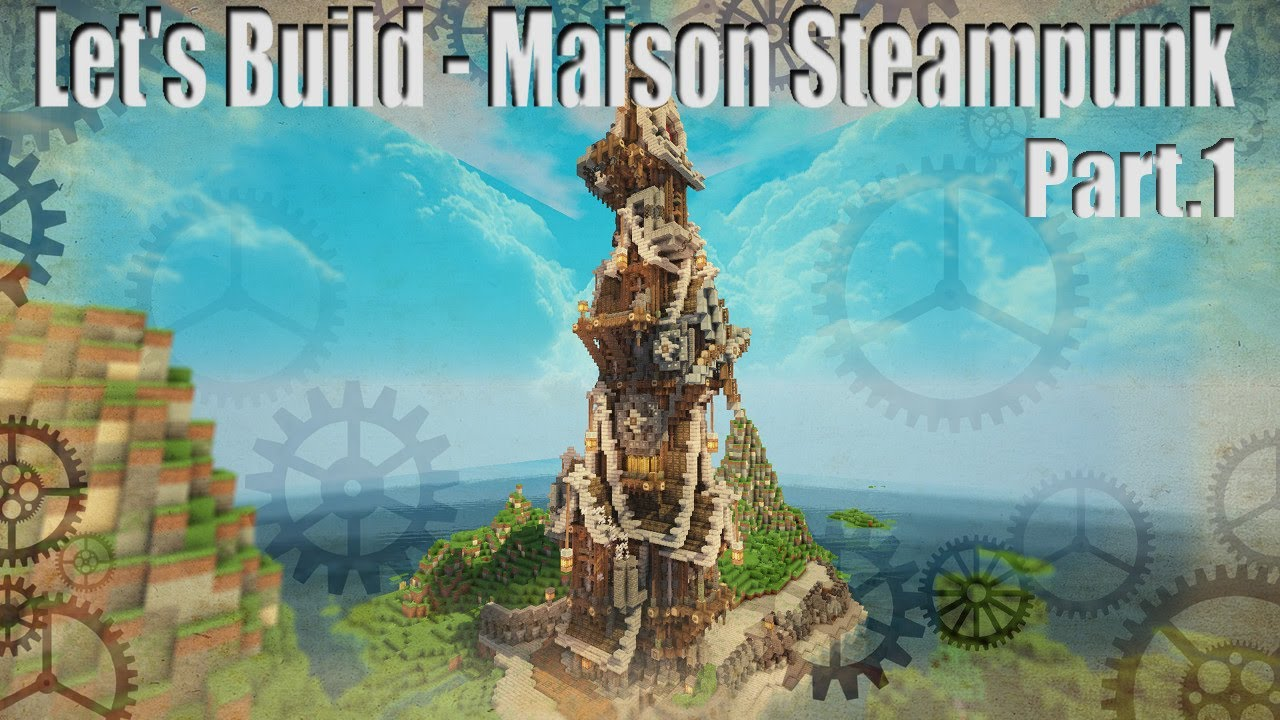 How To Build A Small Steampunk House Tutorial Eng By Lopaker