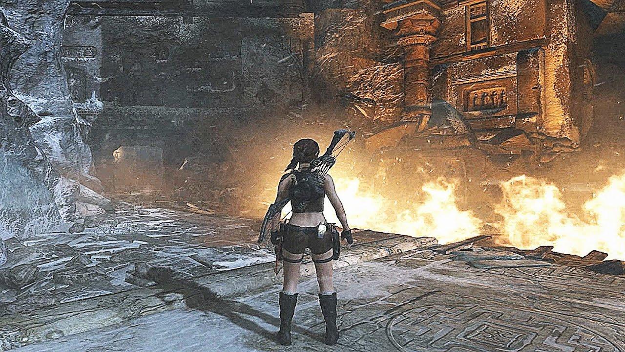 tomb raider gameplay part 1 [AJ GAMING] - YouTube
