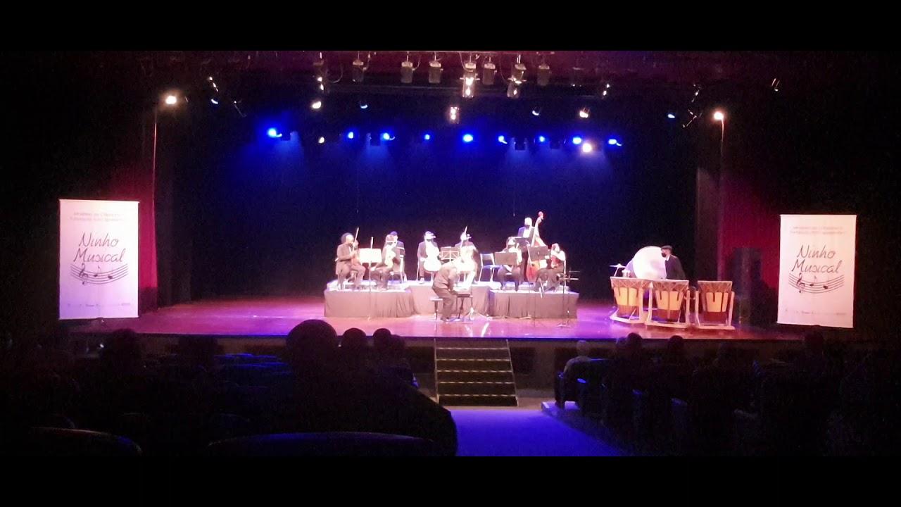 Apresentação da Orquestra Filarmônica Ninho Musical comemorando 10 anos do Projeto Ninho Musical