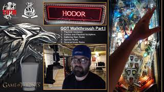 Game of Thrones Pro Pinball Walkthrough Part I