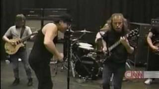 ACDC - Angus gives a guitar lesson