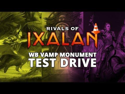 BW Vampire Monument Rivals of Ixalan Standard Test Drive MTGO Stream