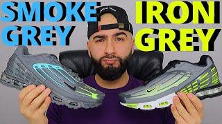Nike AIR MAX PLUS 3 TN SMOKE GREY / IRON GREY On Foot Review
