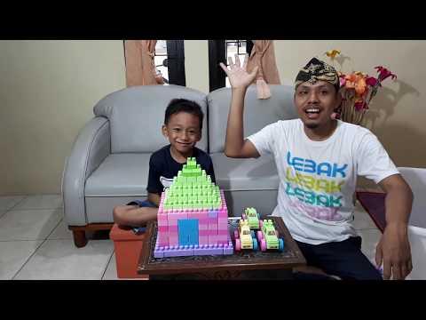 Tata Cara Buat Bangunan Rumah || Dunia Anak || Video For Kids