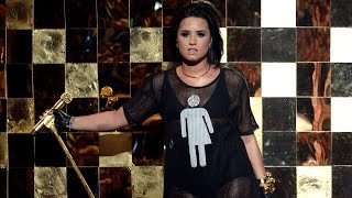 Demi Lovato Supports LGBT Community During 2016 Billboard Music Awards Performance