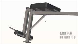Bench Press Assembly Video
