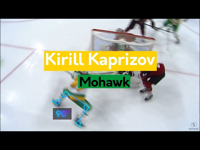 Kirill Kaprizov | Skating ability and Mohawk