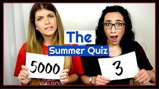 Το Quiz του Καλοκαιριού || fraoules22