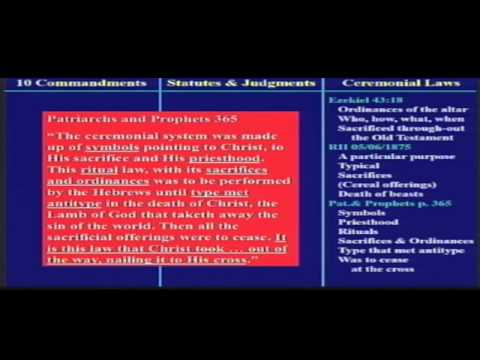 The Commandments, Statutes, and Judgments