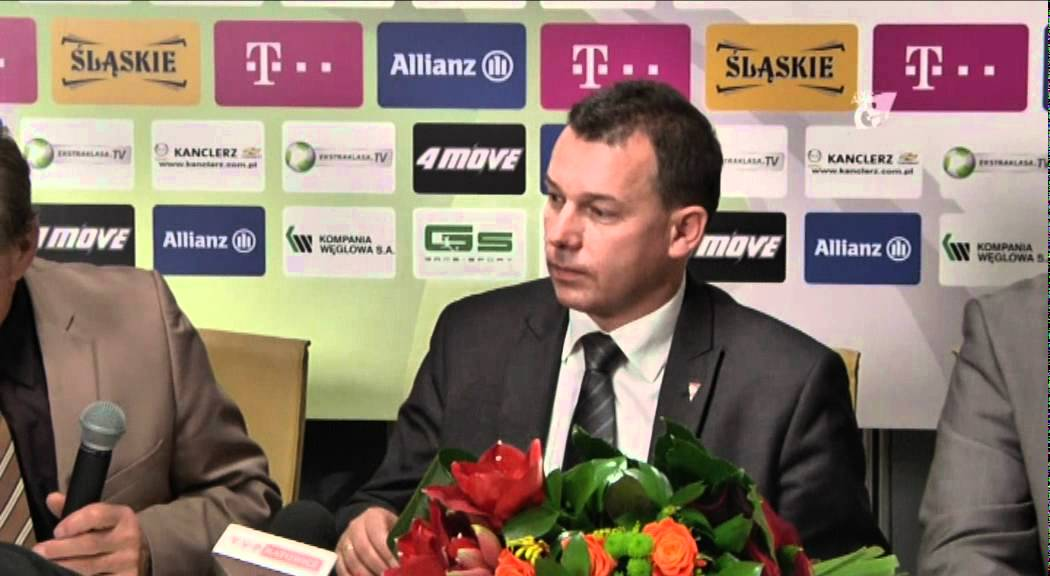 Konferencja: Artur Jankowski nowym prezesem Górnika Zabrze