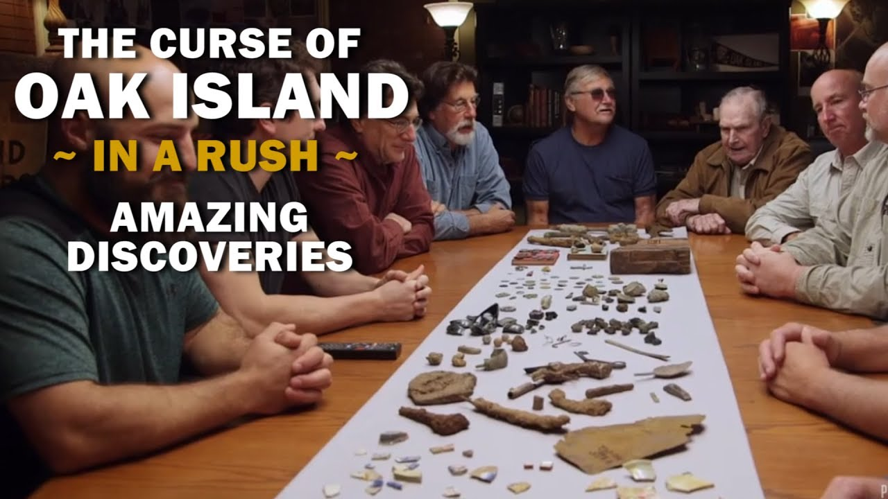 The Curse of Oak Island (In a Rush) Recap | Season 5, Episode 17 | Amazing  Discoveries
