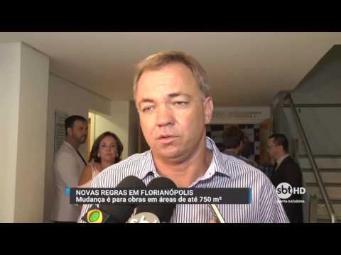 Prefeitura de Florianópolis anuncia projeto para agilizar construções no município