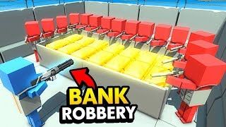 NEW Futuristic Minigun BANK ROBBERY In Ancient Warfare 3 (Funny Ancient Warfare 3 Gameplay)