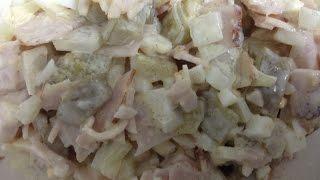 Салат пастрома 1% (нарезка) no диетe Дюкана, Круиз. Salad meat cutting 1 % Dukan, Cruise