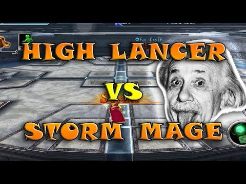 Avabel Online - Storm Mage Vs High Lancer Cooldown Build