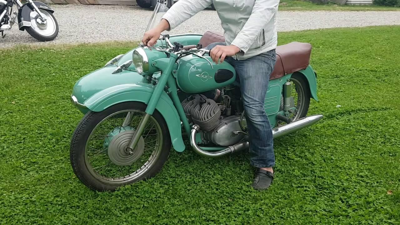 Restoration motorcycle IZH Jupiter-5 3