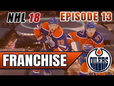 FUTURE FRANCHISE GOALIE DRAFTED! | NHL 18 Edmonton Oilers Franchise Mode Ep. 13