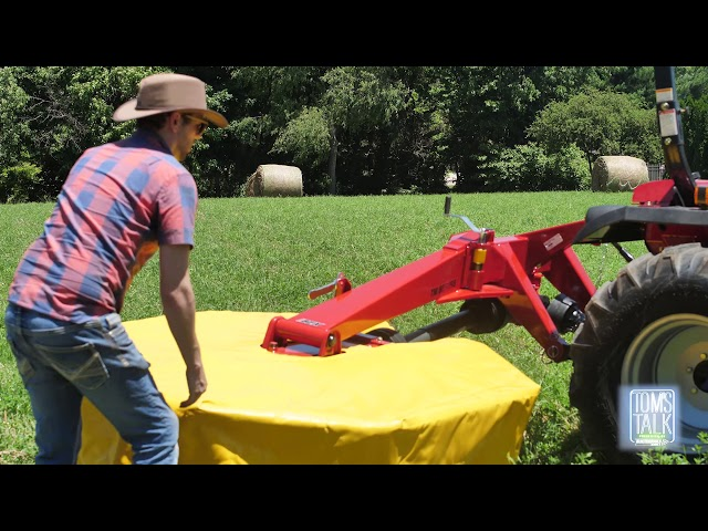Tom's Talk: Changing your Mower's Transport Position