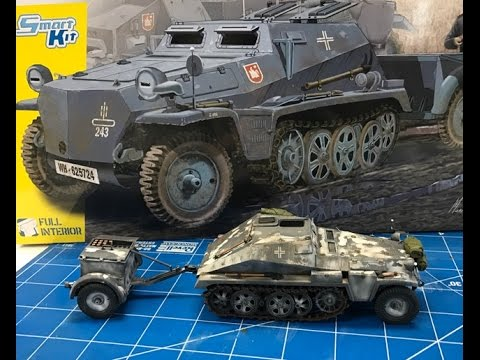 Building the New Dragon Sdkfz 252 halftrack munitions carrier