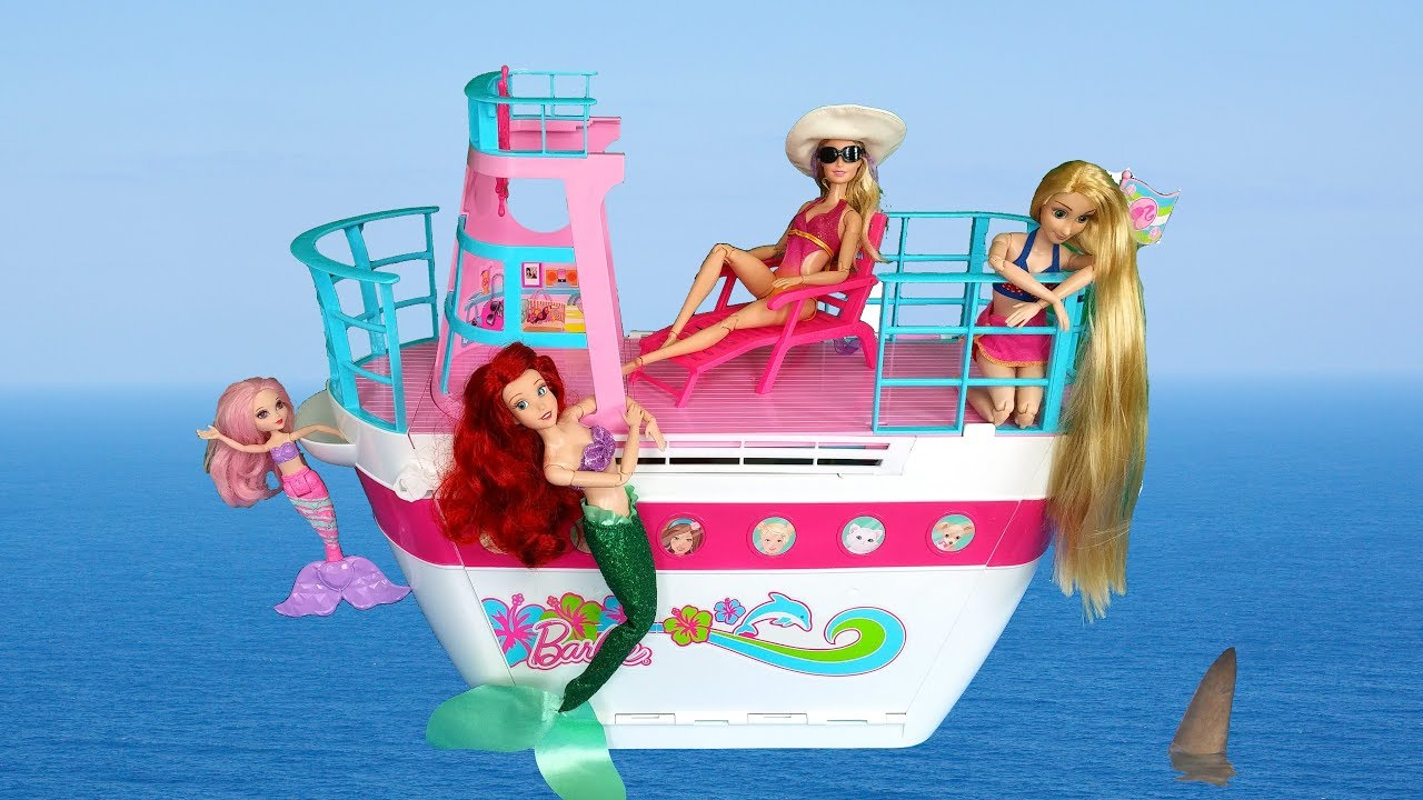 Barbie cruise ship toy unboxing setup for Kitchen set toys r us philippines