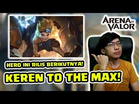 Ini DIA HERO BARU YANG BAKAL RILIS! Max! Hero Tank KOCAK! - Arena of Valor Indonesia
