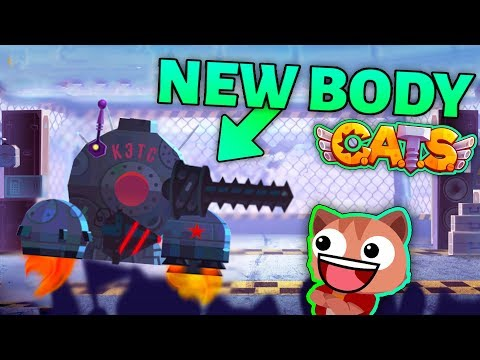 USING THE NEW LUNOKHOD X BODY IN C.A.T.S - ULTIMATE LEAGUE FIGHTS Crash Arena Turbo Stars