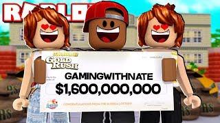 I WON THE MEGA MILLIONS JACKPOT $1.6 BILLION IN ROBLOX
