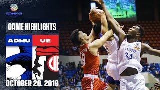 ADMU vs. UE - October 20, 2019  | Game Highlights | UAAP 82 MB
