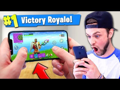 *NEW* Fortnite: Battle Royale MOBILE GAMPLAY! (Victory Royale)