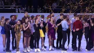 Финал 3 часть. Показательные выступления. Чемпионат Европы 2018