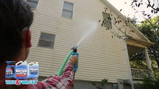 Wet And Forget Outdoor Cleaner House Wash - No Scrubbing, No Rinsing - Cleans Any Outdoor Surface