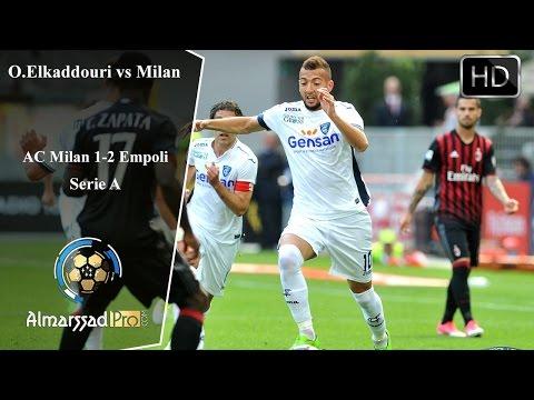 Omar Elkaddouri vs AC Milan / 23.04.2017 HD أداء رائع من عمر القادوري أمام أسي ميلان