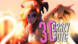 30 CRAZY PLAYS OF THE GAME #10 ► Overwatch Highlights Community Montage